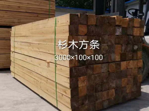 杉木方條3000x100x100